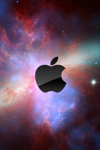 wallpaper iPhone Apple Nebula