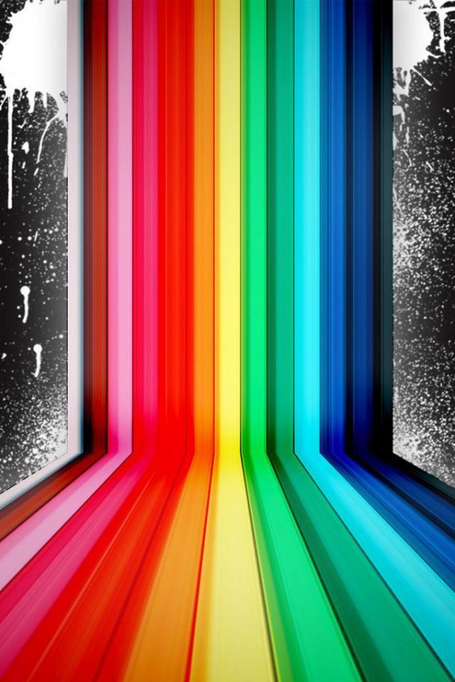 wallpaper iPhone Colorfall
