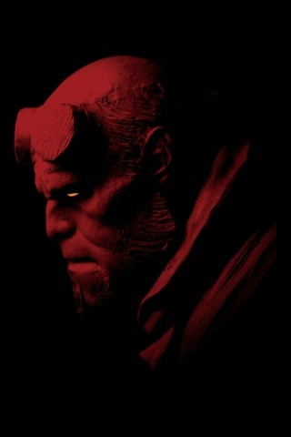 Wallpaper Iphone Hellboy 3534