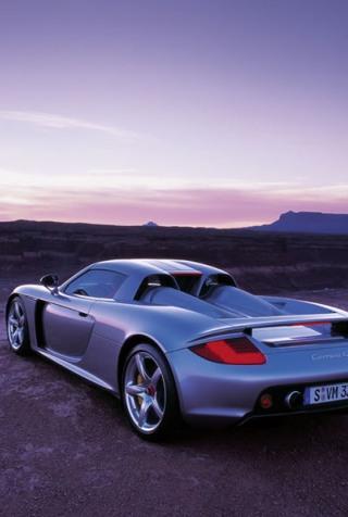 wallpaper iPhone Porsche Carrera GT