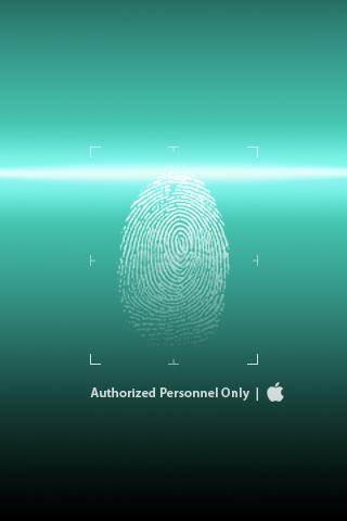 wallpaper iPhone Apple Scan
