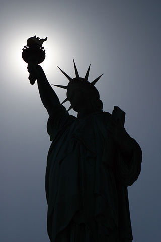 wallpaper iPhone Lady Liberty