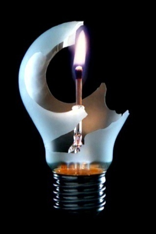 wallpaper iPhone Match Bulb