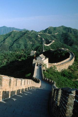wallpaper iPhone Great Wall