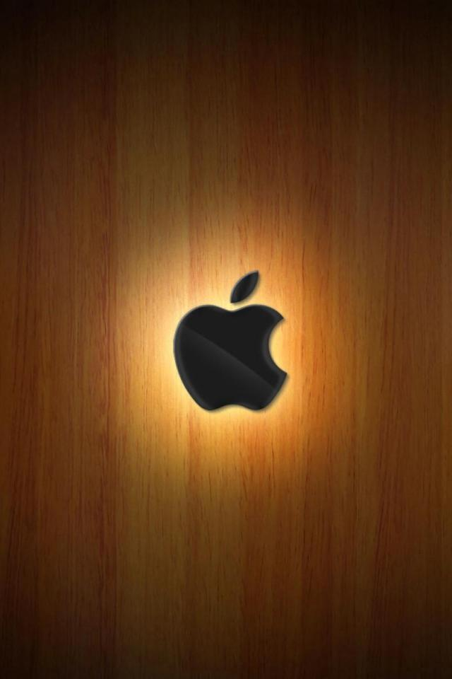 wallpaper iPhone Apple Wood