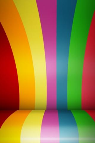 wallpaper iPhone Rainbow Roll