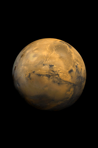 Wallpaper Iphone Red Planet 2840