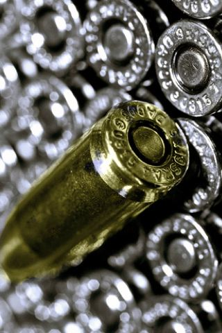 wallpaper iPhone Bullets