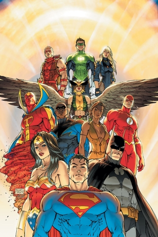 wallpaper iPhone Justice League of America