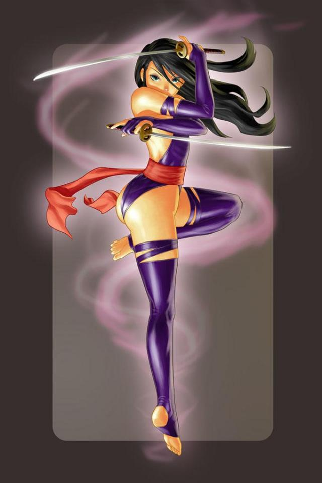 wallpaper iPhone Psylocke