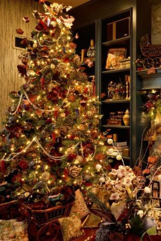 wallpaper iPhone Christmas Tree