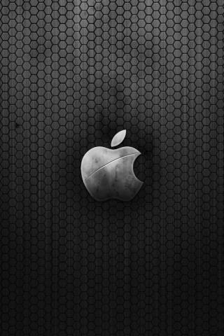 wallpaper iPhone Black Hex Apple