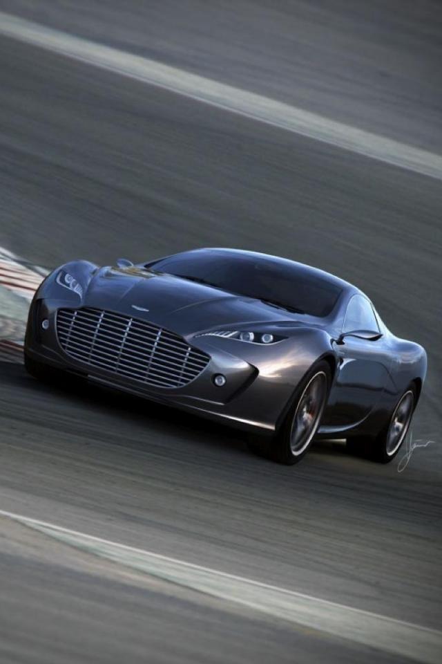 wallpaper iPhone Aston Martin Gauntlet