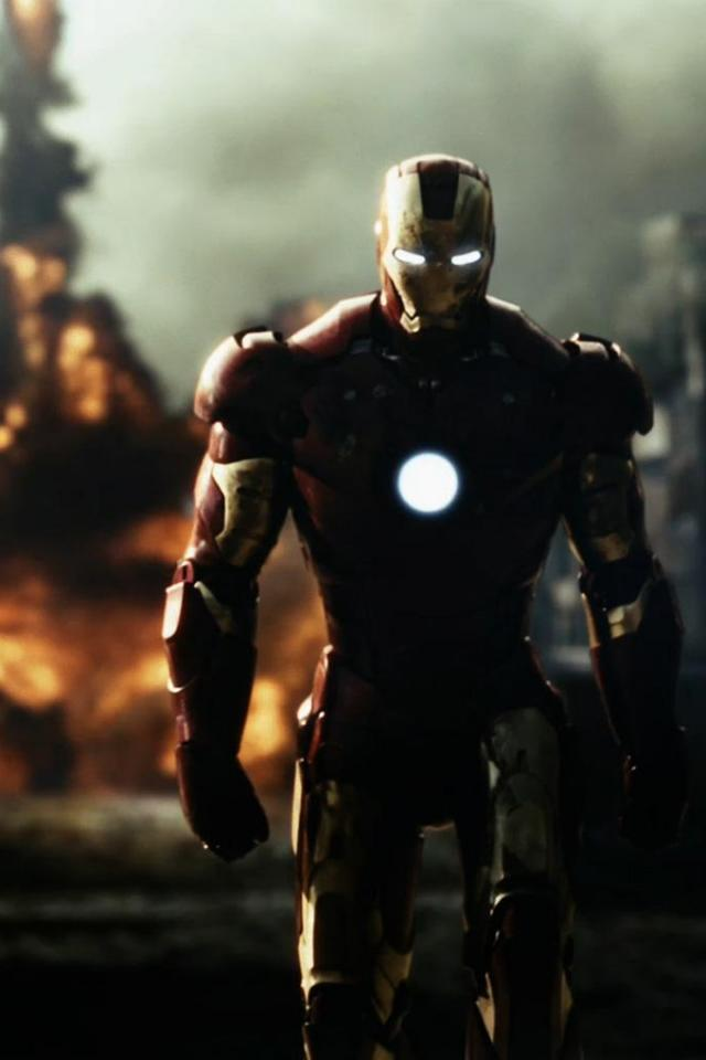 wallpaper iPhone Iron Man