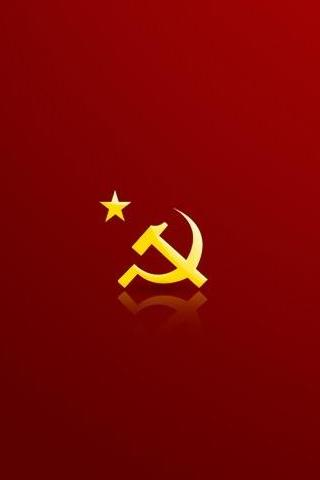 wallpaper iPhone Hammer and Sickle