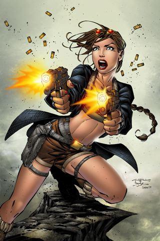 wallpaper iPhone Tomb Raider