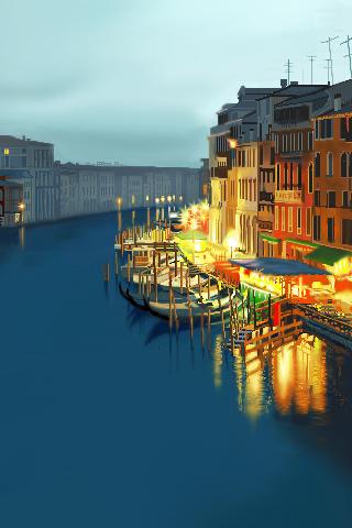 wallpaper iPhone Vector Venice