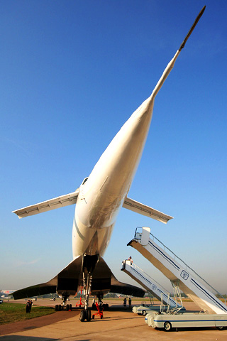 wallpaper iPhone Tu-144D