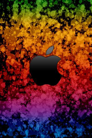 wallpaper iPhone Apple Colors