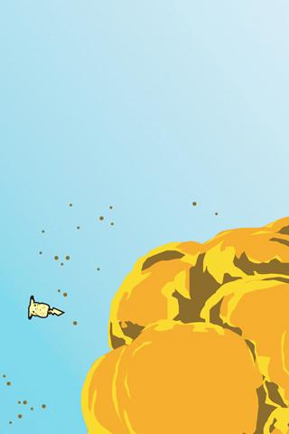wallpaper iPhone Pikachu Explosion