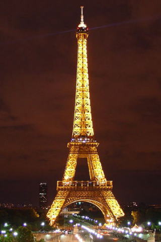 wallpaper iPhone Eiffel Tower