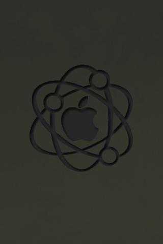 wallpaper iPhone Atomic Apple