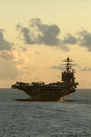 wallpaper iPhone USS George Washington
