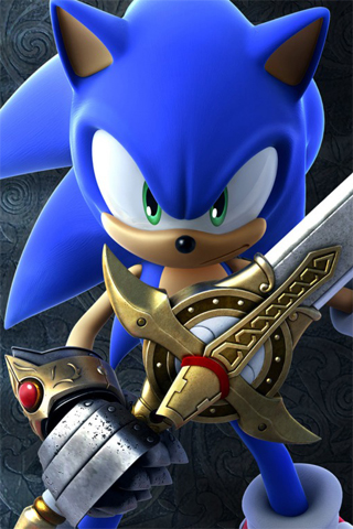 wallpaper iPhone Sonic & The Black Knight