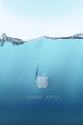 wallpaper iPhone Submerged iPhone
