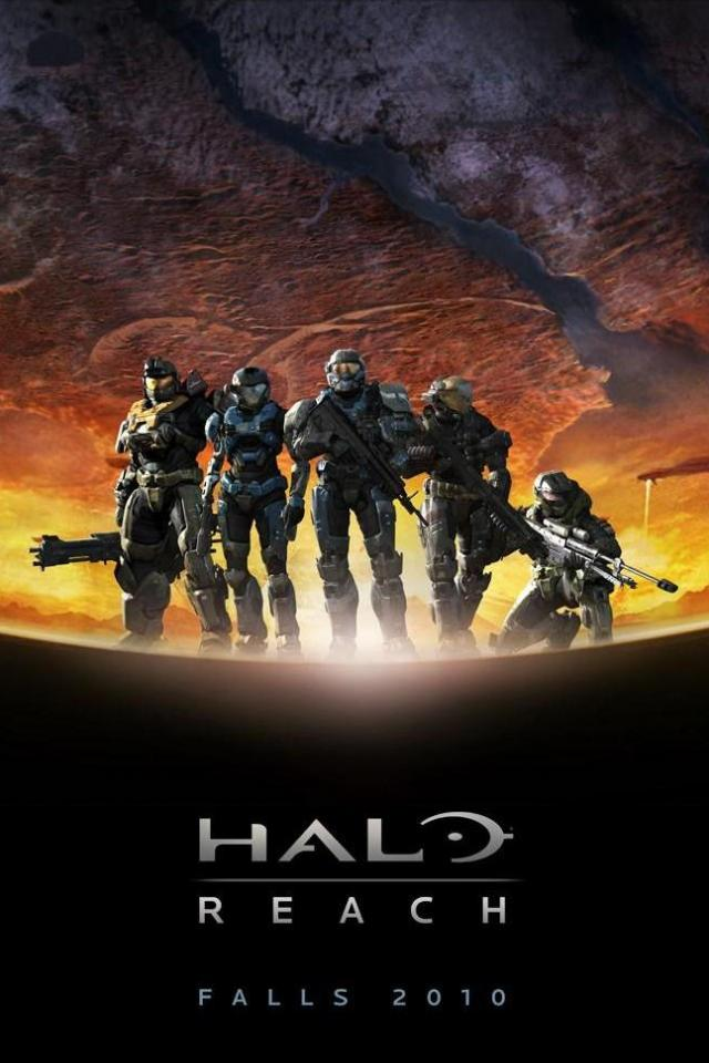 wallpaper iPhone Halo Reach