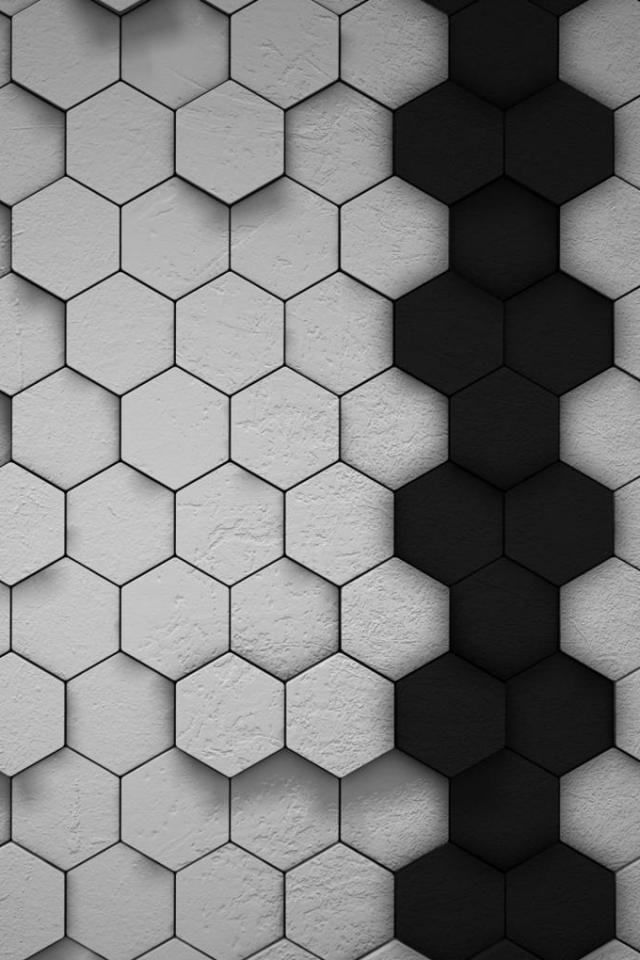 wallpaper iPhone Hexagons