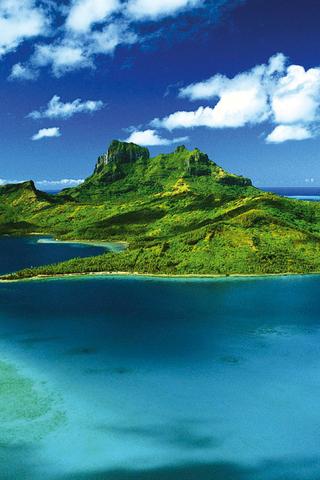wallpaper iPhone Bora Bora
