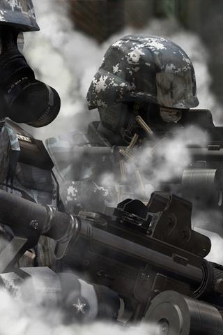 Wallpaper Iphone Swat Team Smoke 5860