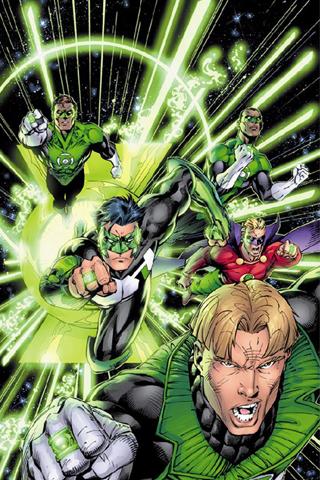 wallpaper iPhone Green Lantern Corps