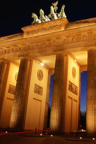 wallpaper iPhone Brandenburg Gate
