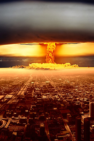 wallpaper iPhone Nuclear City