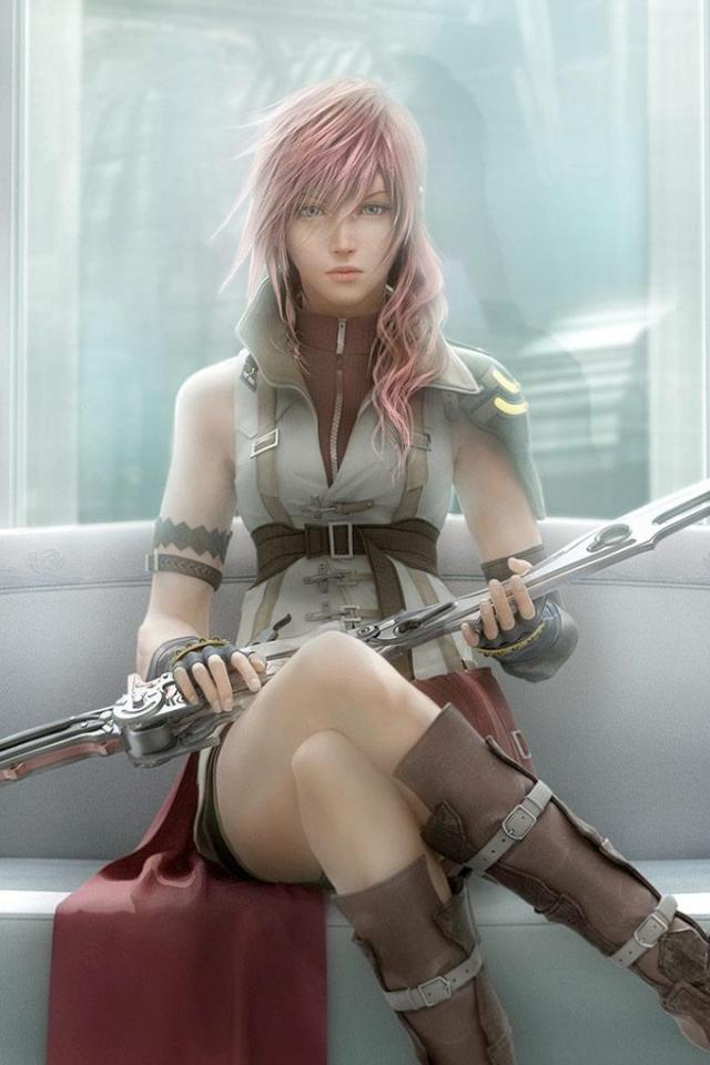 wallpaper iPhone Final Fantasy XIII
