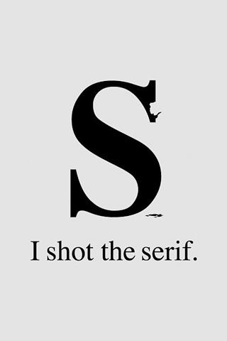 wallpaper iPhone Font Funny