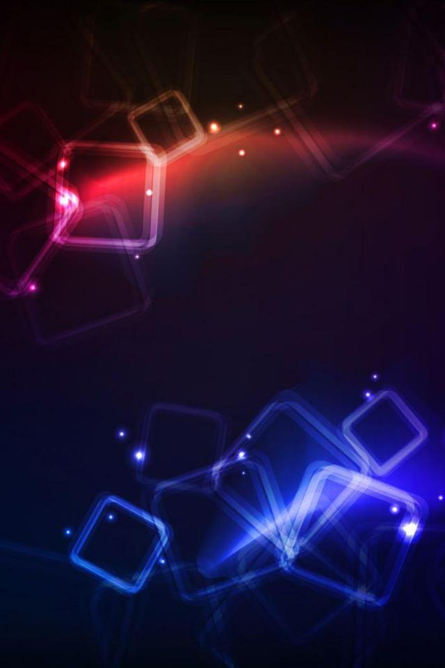 wallpaper iPhone Light Squares
