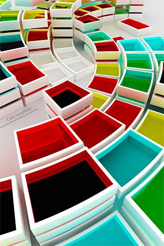 wallpaper iPhone Color Blocks