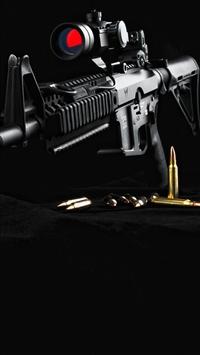 wallpaper iPhone Gun AR15 2
