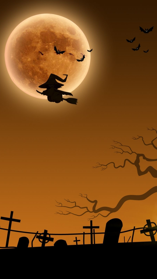 wallpaper iPhone Halloween Theme 12