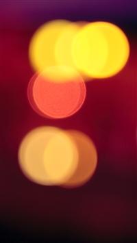 wallpaper iPhone Red Light Blur 8