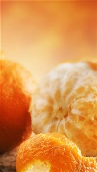 wallpaper iPhone Fresh Orange 4