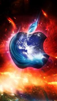 wallpaper iPhone Apple Logo 1