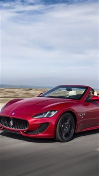 wallpaper iPhone Maserati Gran Cabrio 8