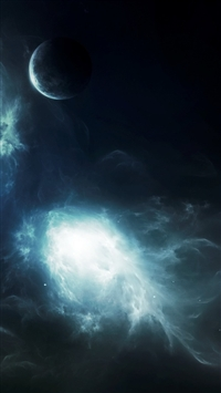 wallpaper iPhone Wormhole In Space 2 1