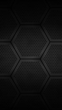 wallpaper iPhone Hexagons Block 2