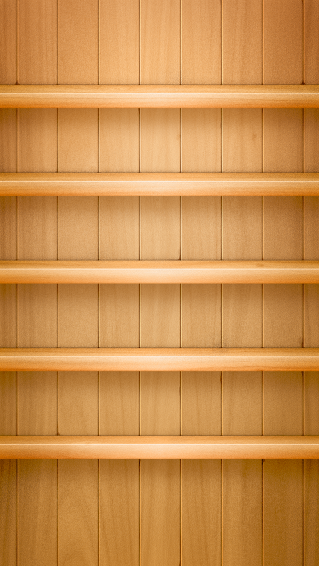 wallpaper iPhone Wooden Shelf, 640x1136 10