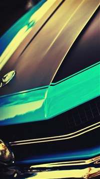 wallpaper iPhone Challenger Car 1